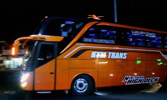 Agen Sewa Bus Pariwisata KYM Trans Mewah