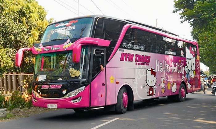 Sewa Bus Pariwisata KYM Trans