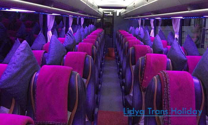 Interior Bus Pariwisata Bandung