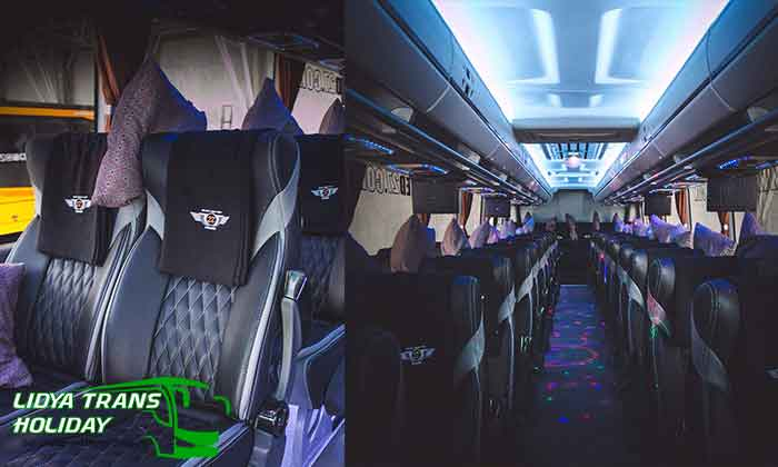 Interior Sewa Bus Pariwisata di Malang Terbaik