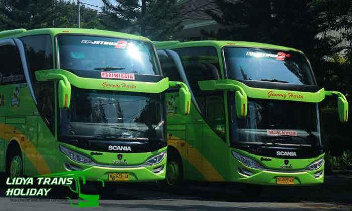 Daftar Harga Sewa Bus Pariwisata PO Gunung Harta Terbaru Murah