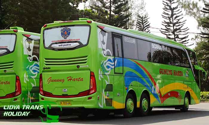 Daftar Harga Sewa Bus Pariwisata PO Gunung Harta Terbaru Terbaik