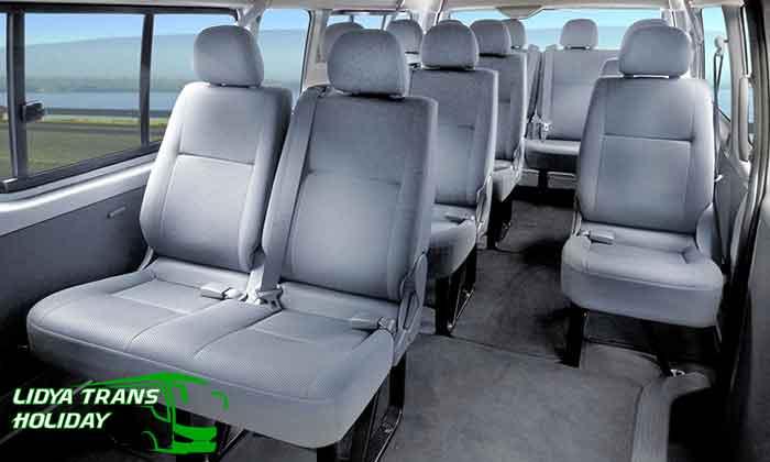 Daftar Harga Sewa Hiace Commuter di Tulungagung terbaru murah