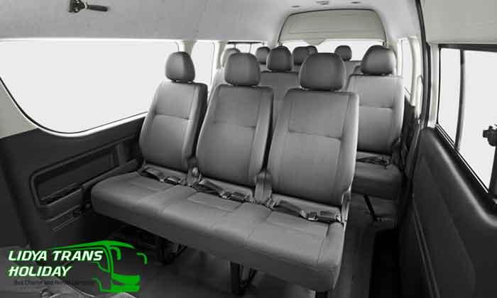 Daftar Harga Sewa Toyota Hiace Commuter di Madiun Terbaru Murah