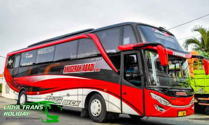 Sewa Bus Pariwisata Anugerah Abadi Trans Terbaru terbaik paling murah