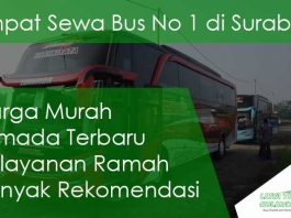 Sewa Bus Pariwisata di Surabaya Murah Terbaru