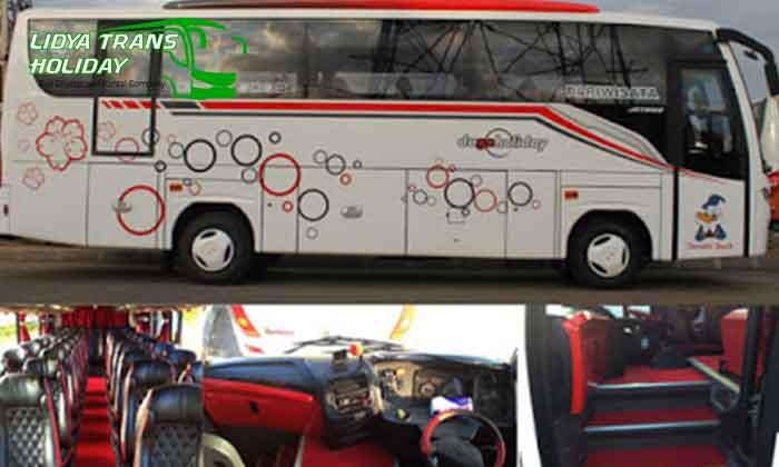 Sewa Bus Pariwisata Murah di Trans Bandung Medium