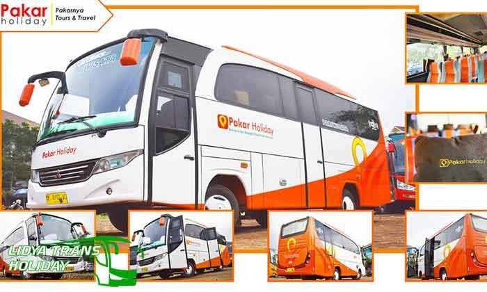 Sewa bus pariwisata Bandung Terbaru Pakar Holiday