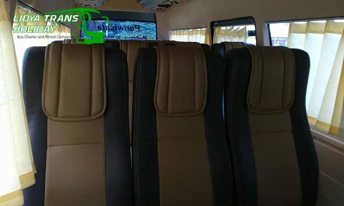 Interior Daftar Harga Sewa Hiace di Tangerang Murah Terbaru Terbaik