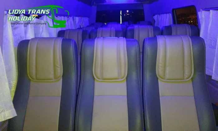 Interior dan Daftar Harga Sewa Hiace di Bogor Murah Terbaru Terbaik