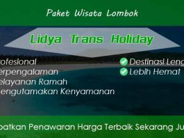 Paket Wisata Lombok Murah Lengkap