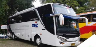 Sewa Bus Pariwisata PO Trac di Jakarta Murah
