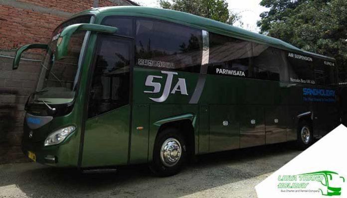Sewa Bus Pariwisata PO SandHoliday di Jakarta Murah