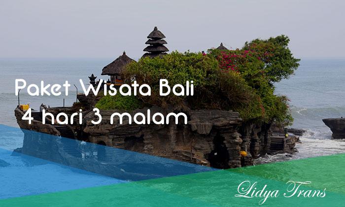Paket Wisata Bali 4 Hari 3 Malam 2019 Lidya Trans