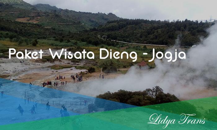 Paket WIsata Dieng - Jogja - Merapi Adventure Kawah Sikidang